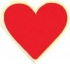 Heart Service Lapel Pin