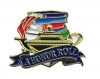 Bright Gold Educational A Honor Roll Lapel Pin (1-1/8