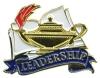 Bright Gold Educational Leadership Lapel Pin (1-1/8