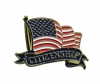 Bright Gold Educational Citizenship Lapel Pin (1-1/8