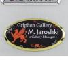 Vibraprint™ Bright Oval Name Badge Holder
