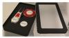 Express Pitchfix® Tour Edition Golf Divot Tool & Multimarker Chip w/ Window Box