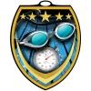 Vibraprint™ Shield Swimming Medallion (3