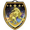 Vibraprint™ Shield Wrestling Medallion (3