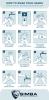 COVID-19 Hand Washing Instructional Vibraprint™ Label (6
