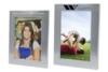Brushed Aluminum Picture Frames