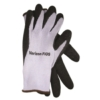 Barrier Gloves, Gray with Black Palm