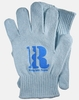 Eco Gloves Knit Gloves, Recycled Blue