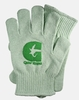 Eco Gloves Knit Gloves, Recycled Green