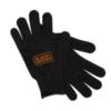 Second Skin Fit Knit Gloves w. Grip Dots