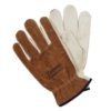 The Spectator Grain Leather Palm Suede Back Gloves