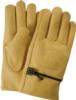 Premium Cowhide Leather Gloves w/Strap