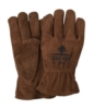 Brown Suede Cowhide Leather Gloves