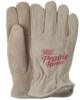 Winter Lined Suede Cowhide Leather Gloves
