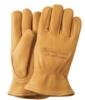 Premium Gold Deerskin Leather Gloves
