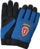 Blue Touchscreen Mechanics Gloves