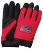 Red Touchscreen Mechanics Gloves