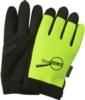 Hi Viz Touchscreen Mechanics Gloves