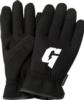 Slip On Black Touchscreen Mechanics Gloves