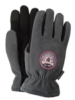 Touchscreen Winter Lined Fleece & Leather Gloves