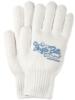 White Knit Gloves