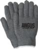 Gray Knit Gloves