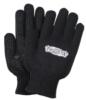 Black Knit Freezer Gloves