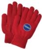 Red Knit Freezer Gloves