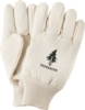 Canvas Gloves Seamless Back