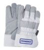 Winter Lined Leather Palm Gloves
