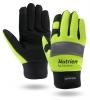 Hi-Viz Touchscreen Waterproof Winter Lined Mechanics Gloves