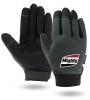 Touchscreen Gray Mechanics Gloves