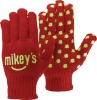 Red Knit Gloves w/Step & Repeat Imprint