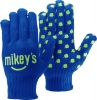 Royal Blue Knit Gloves w/Step & Repeat Imprint