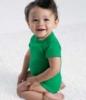 Infant Vintage Fine Jersey Bodysuit - Vintage Green