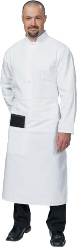 Fame® Best Selling Full Bistro Apron w/Pocket Available in 13 Colors/Patterns