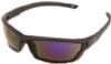 Outride® Black/Blue Mirror Eyewear (Retail Ready)
