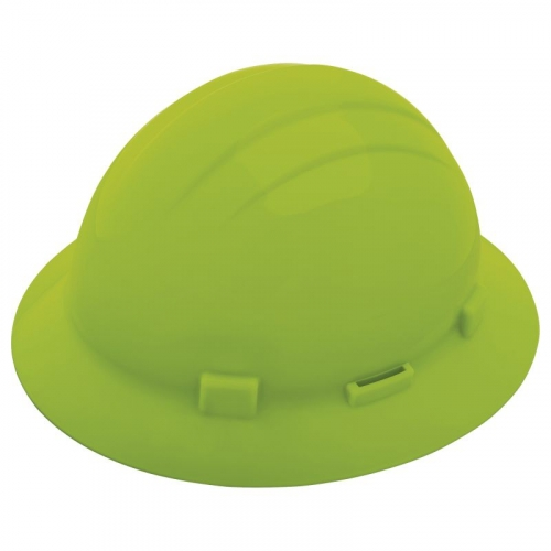 Americana® Full Brim Hard Hat w/Slide Lock Suspension & Accessory Slots