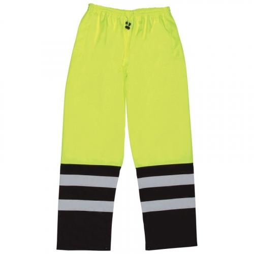 Aware Wear® ANSI Class E Two-Tone Hi Viz Lime Rain Pants