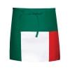 Fame® F9L FLG Long Three Pocket Flag Waist Apron Red/White/Green