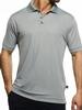 Men's Champion Hybrid Interlock Knit Polo Shirt