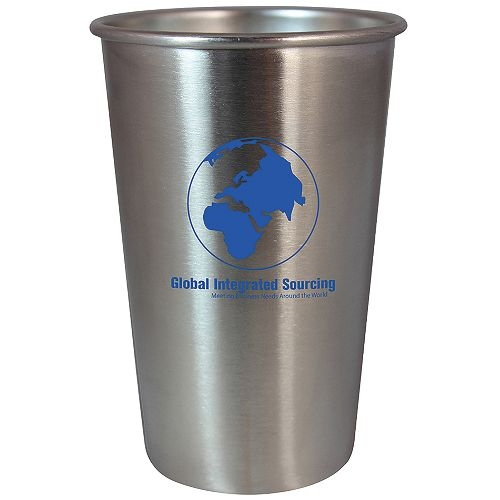 Stainless Steel Pint 16 oz Stainless