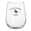 17 oz. Vina Stemless White Wine Glass