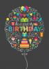 Birthday Balloon Collage