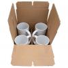 Damage Resistant Master Cartons - 24x16x13 - 4-Pack Mug Mailer