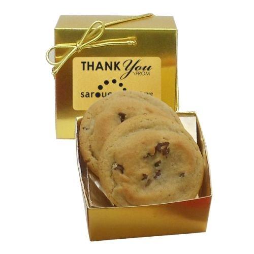Gourmet Chocolate Chip Cookie (2) - Ballotin Box