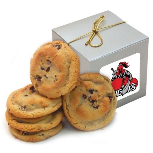 Gourmet Chocolate Chip Cookies (5 ea) - Treat Cube