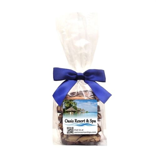 Mini Gourmet Gift Bags - Dreamy Drizzle Chocolate Chip Cookies (4 Cookies)
