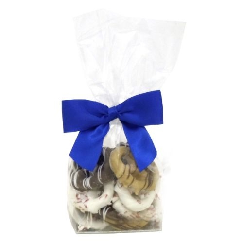 Mini Gourmet Gift Bags - Holiday Chocolate Pretzel Grahams (12)