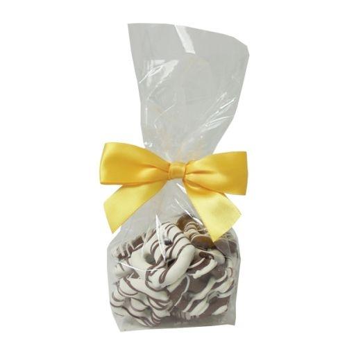 Mini Gourmet Gift Bags - Chocolate Mini Pretzels (18 Pretzels)